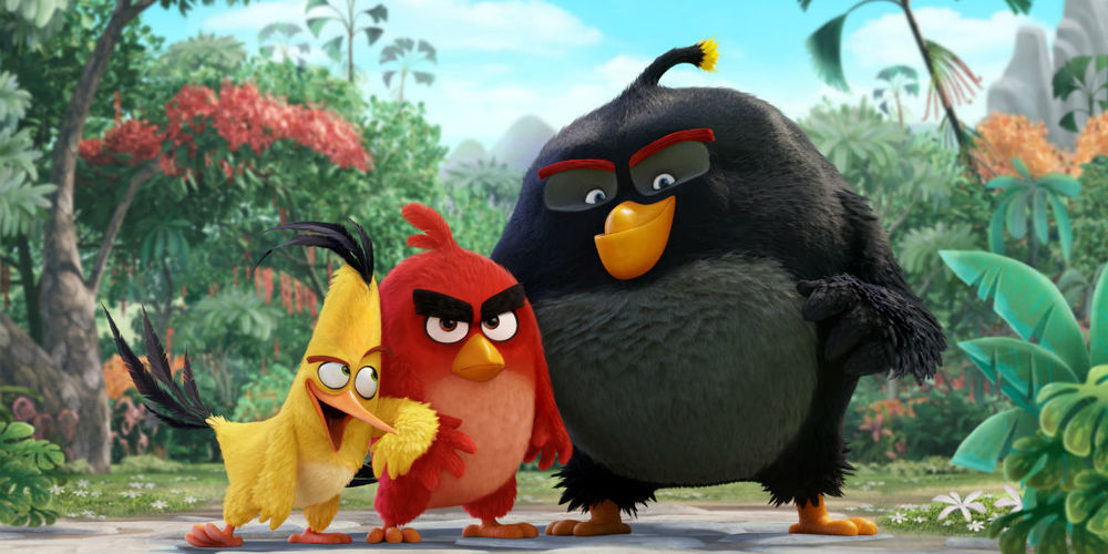 The Angry Birds Movie  retains all of the color of its smartphone origins, but none of the humor. (Columbia Pictures)