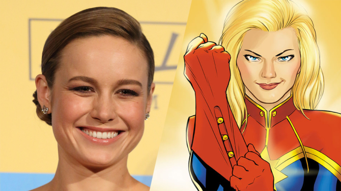 The Marvel Cinematic Universe may soon add another Oscar-winning actress to its ranks. (Getty / Marvel Comics)