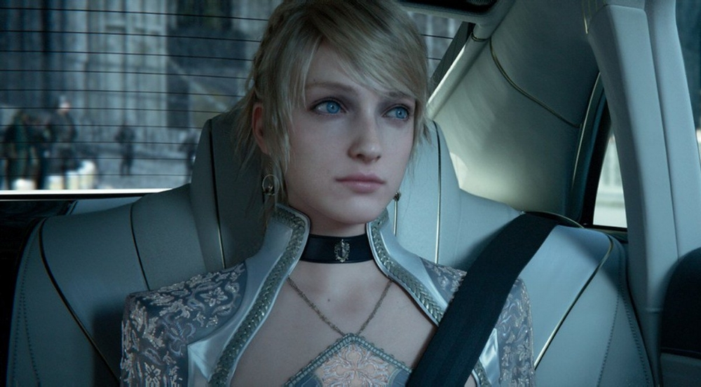 This fantasy-sci-fi film is drenched in gorgeous CGI, which only sometimes helps mask  Kingsglaive's  glaring flaws in story. (Square Enix / Sony Pictures)