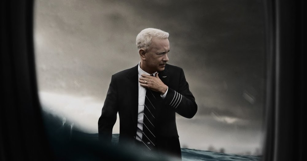 "Tom Hanks easily slips into his role as Chesley ""Sully"" Sullenberger, the hero pilot of the 2009 Hudson River water landing. (Warner Bros.)"