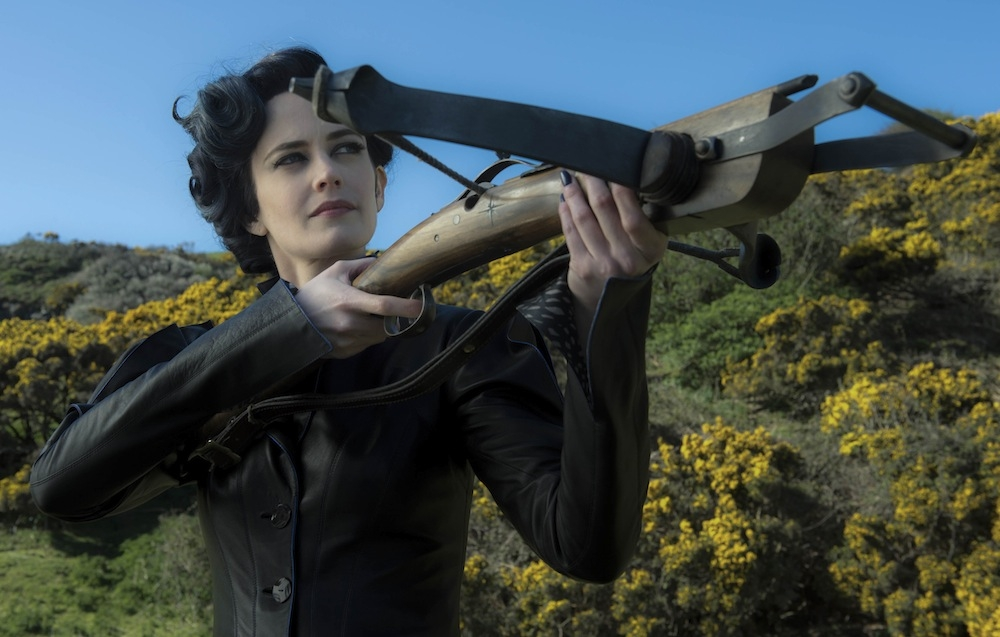 The titular Miss Peregrine (Eva Green) is the mysterious caretaker of many peculiar children in director Tim Burton's 18th film. (20th Century Fox)