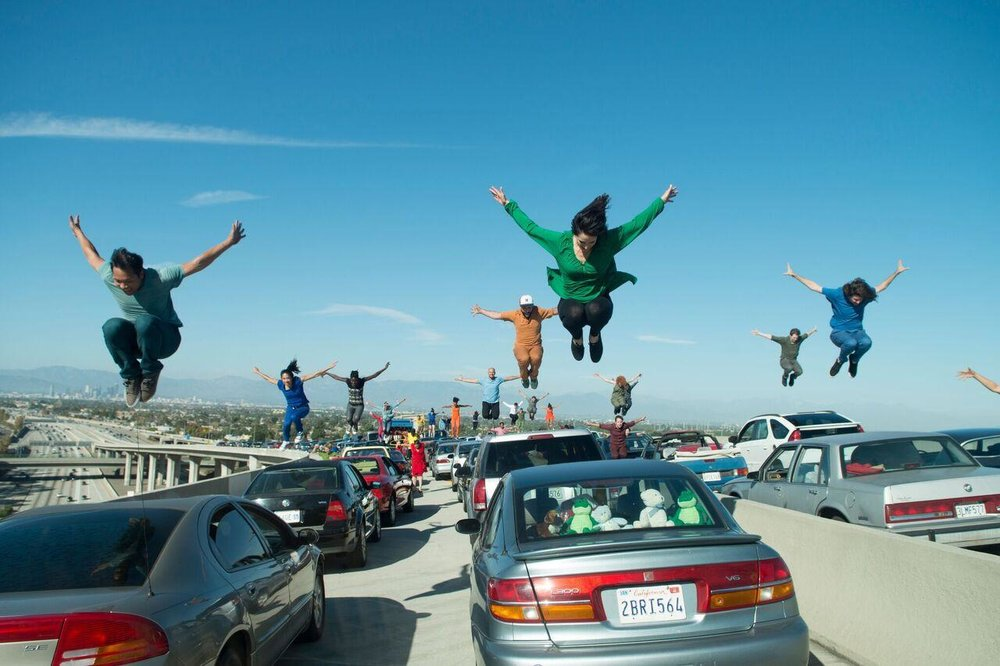 La La Land makes it immediately clear what you're in for, and there's simply no looking away after a show-stopping opening number. (Black Label Media / Gilbert Films)
