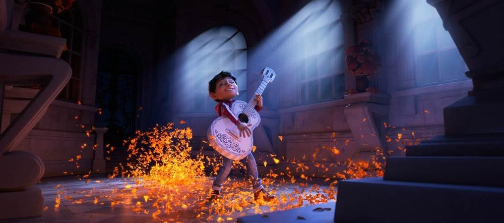 Pixar's flurry of amazing characters, music, scenery, and culture is a spectacle to behold in the theater. (Disney / Pixar)