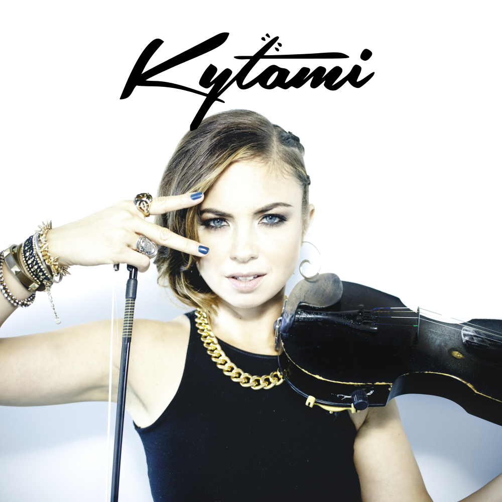 Kytami performs live violin on top of energetic bass music. Catch her headlining the Arcade stage at Electric Love 2017
