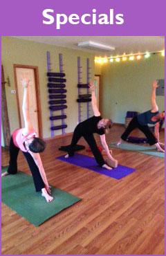 Hidden Yoga Studio Students