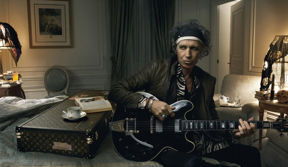 Keith Richards by Annie Leibovitz for Louis Vuitton
