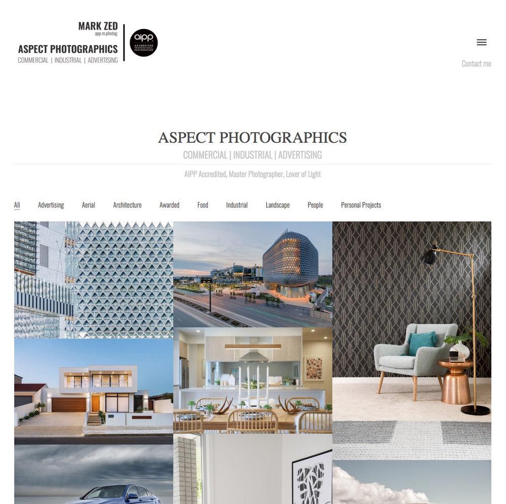 aspect-photographics-wordpress-website