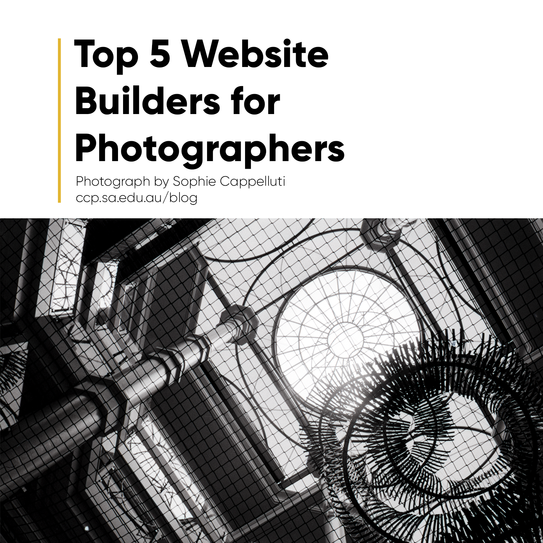 Our Top 5 Portfolio Websites for Photographers Blog