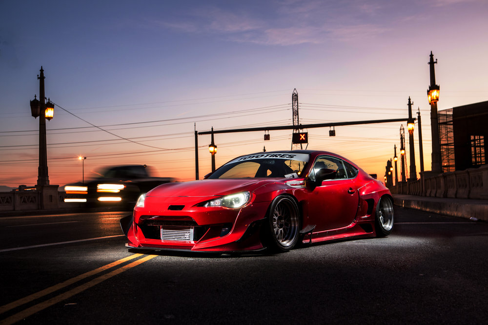 Customized Subaru BRZ