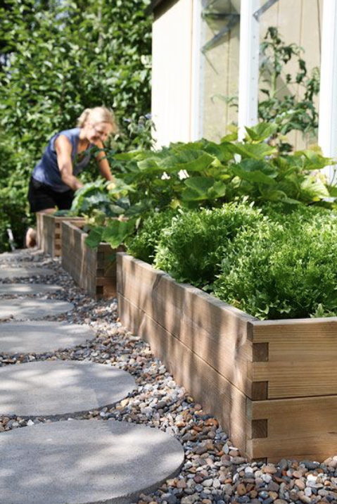 image via: kekkila.com When space is tight or soil quality is low, create a raised garden bed for your veggie patch.