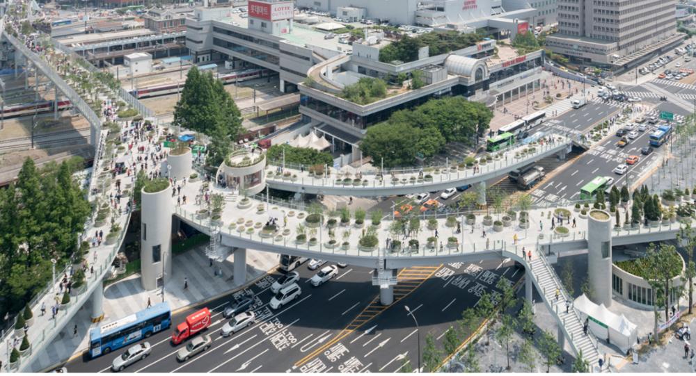 Seoul Skygarden – image via designboom, photography by Ossip van Duivenbode.