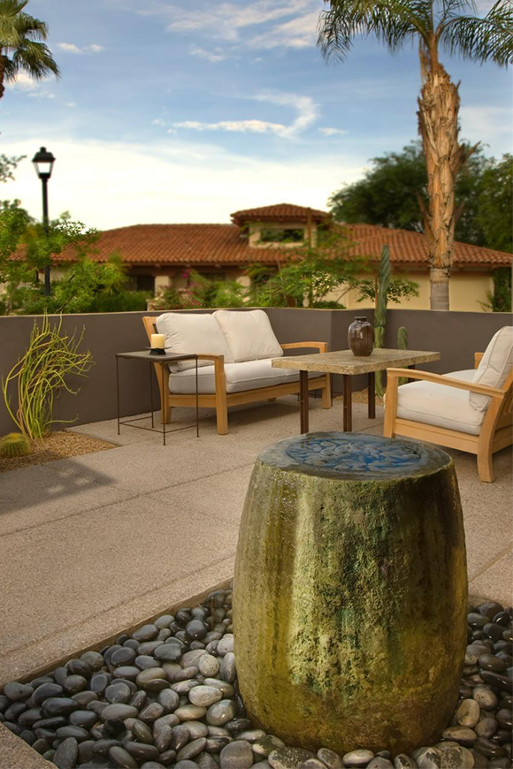 Dreaming of summer already? Get ready for the warm months by designing your summer oasis in winter. Image via  HGTV .