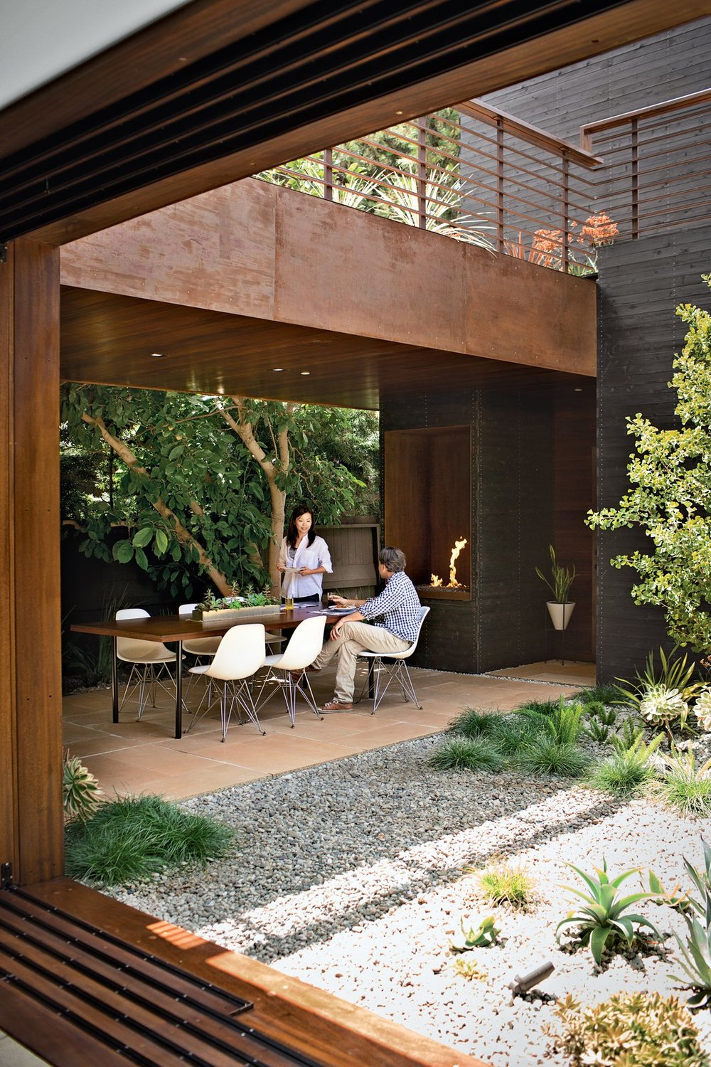 Spark Modern Fire  Image via  dwell . Photography by Coral von Zumwalt.