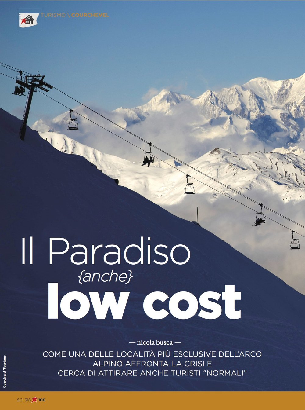 Courchevel on a budget