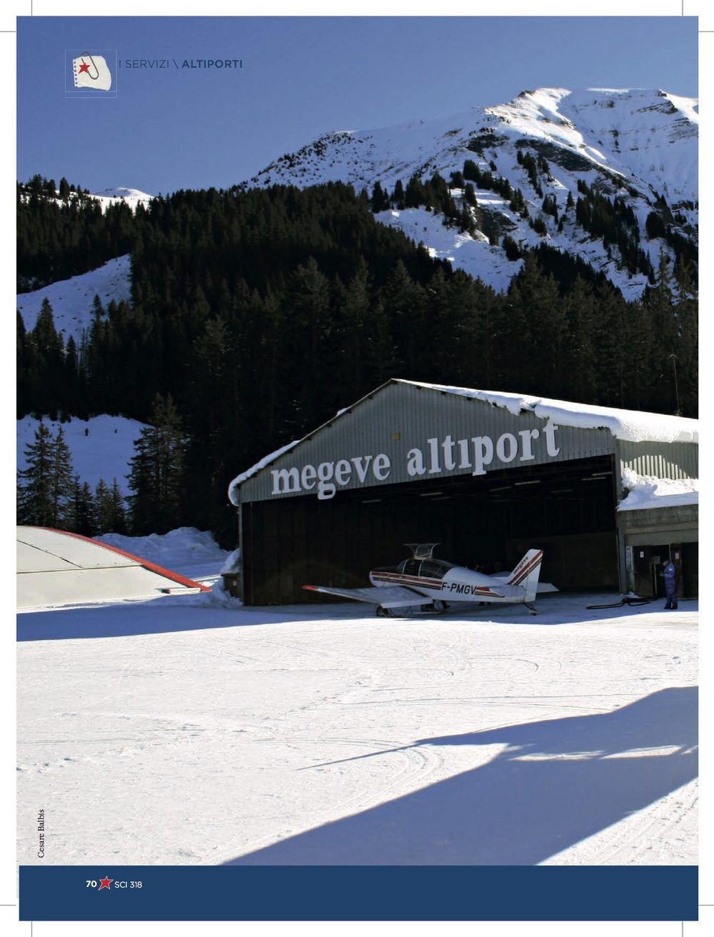 A history of the mountain airports