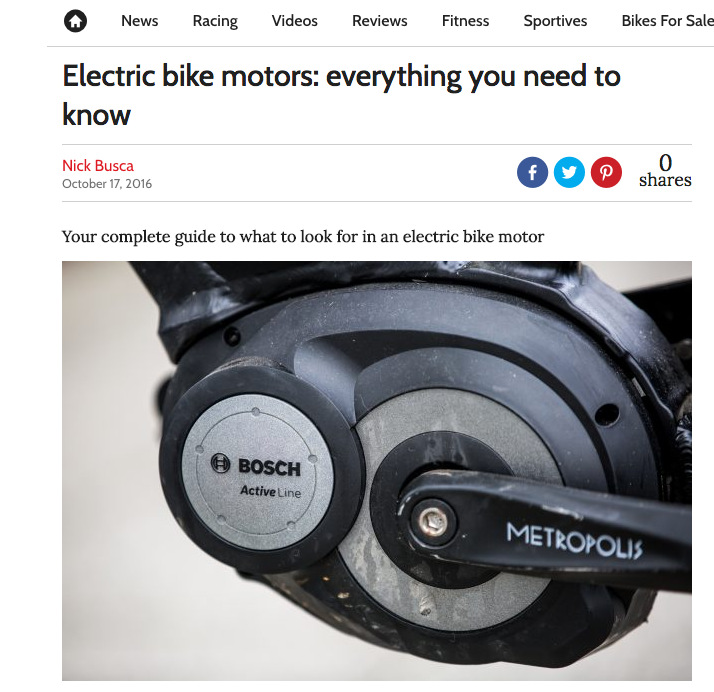 Electric bike motors: everything you need to know