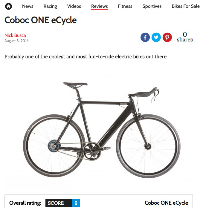 Coboc ONE eCycle