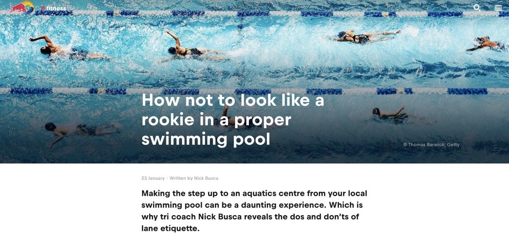 How not to look a rookie in the pool