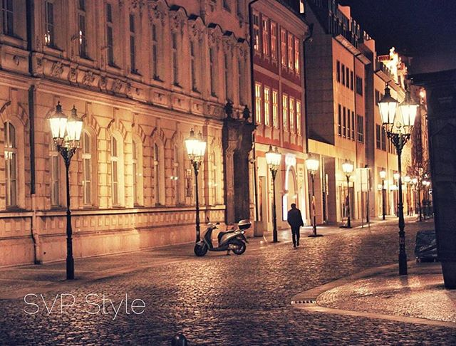 The gorgeous streets of Prague