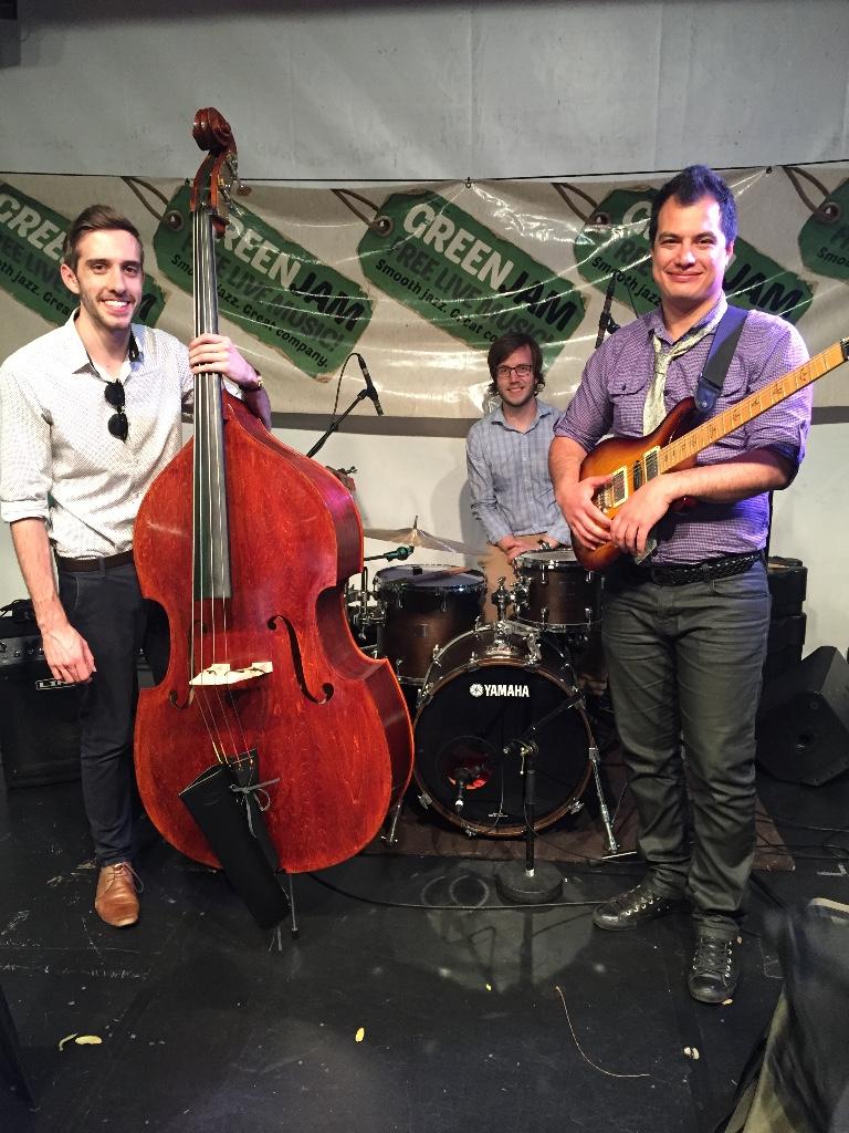 The Barbod Valadi Trio