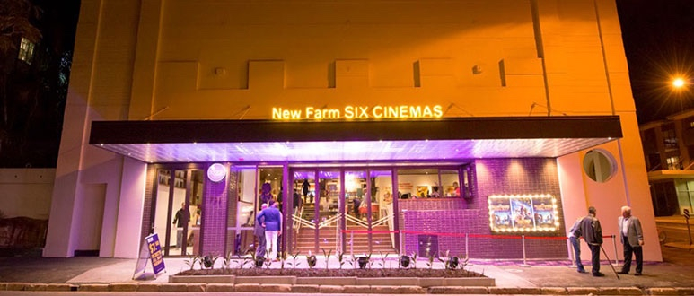 New Farm Cinemas Entry