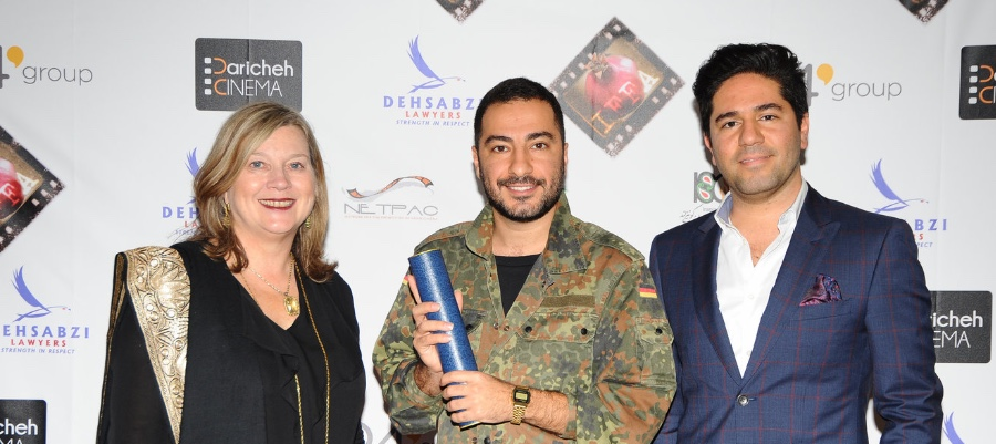 Actor Navid Mohammadzadeh from the winning film was on hand to accept the NETPAC award on the Saeed Rostaee's behalf.