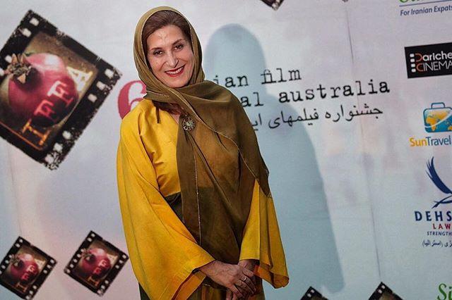 Fatemeh Motamedarya - Jury at the awards ceremony for the 6th Iranian Film Festival Australia.  خانم فاطمه معتمدآريا داور ٦امين جشنواره فيلمهاى ايرانى در استراليا