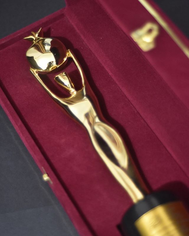 IFFA's Golden Pomegranate Award #thegoldenpomegranate