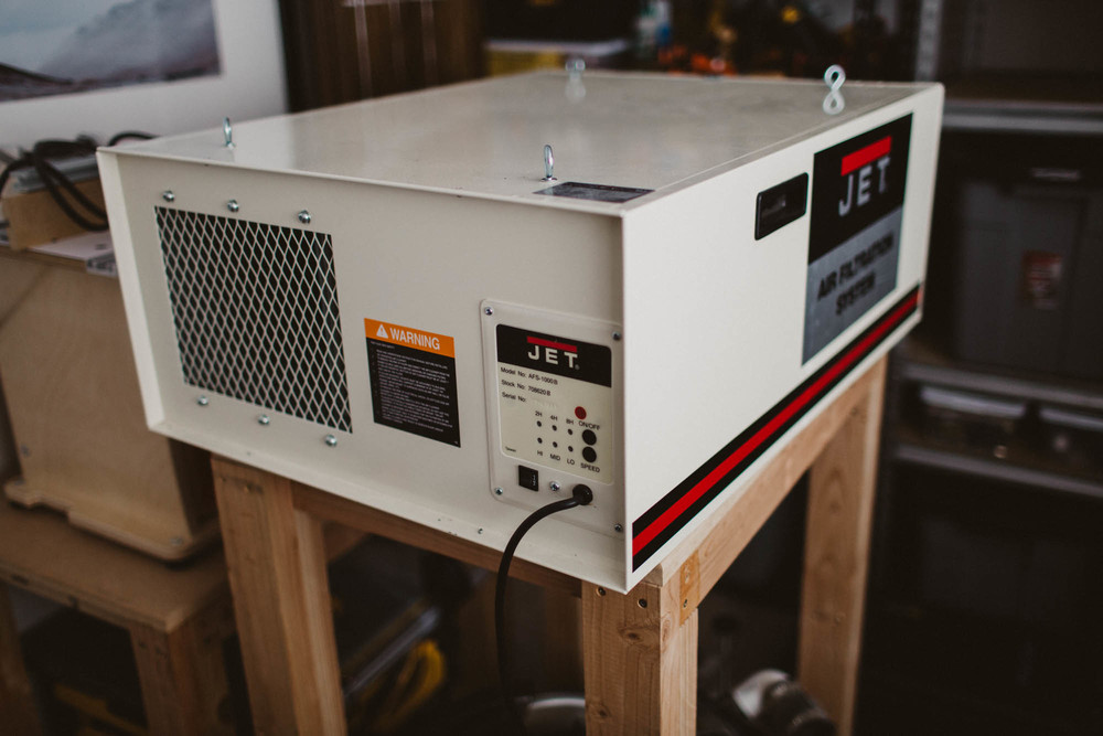 Mounting A Jet Air Filtration System : Jet air filtration system review — handsome woodworking