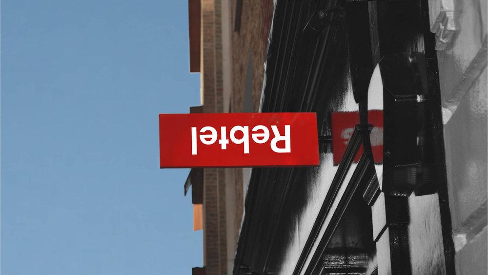Visual Identity & UX-design - ReBTEL