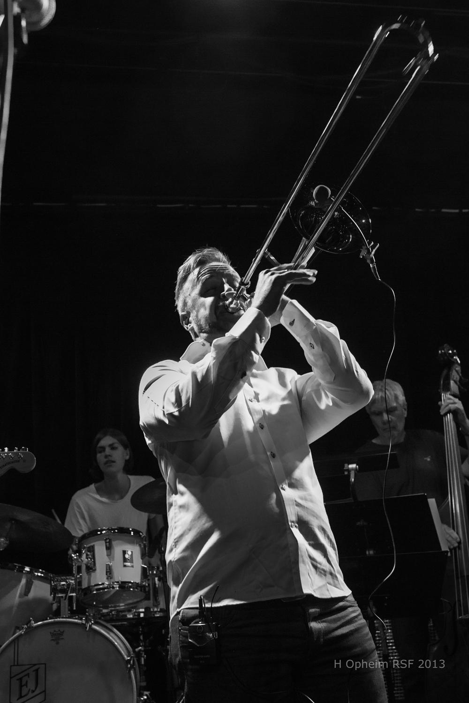 I 2013 leverte bandet og Even Kruse Skatrud et forrykende show på samme scene.Foto: Harald Opheim