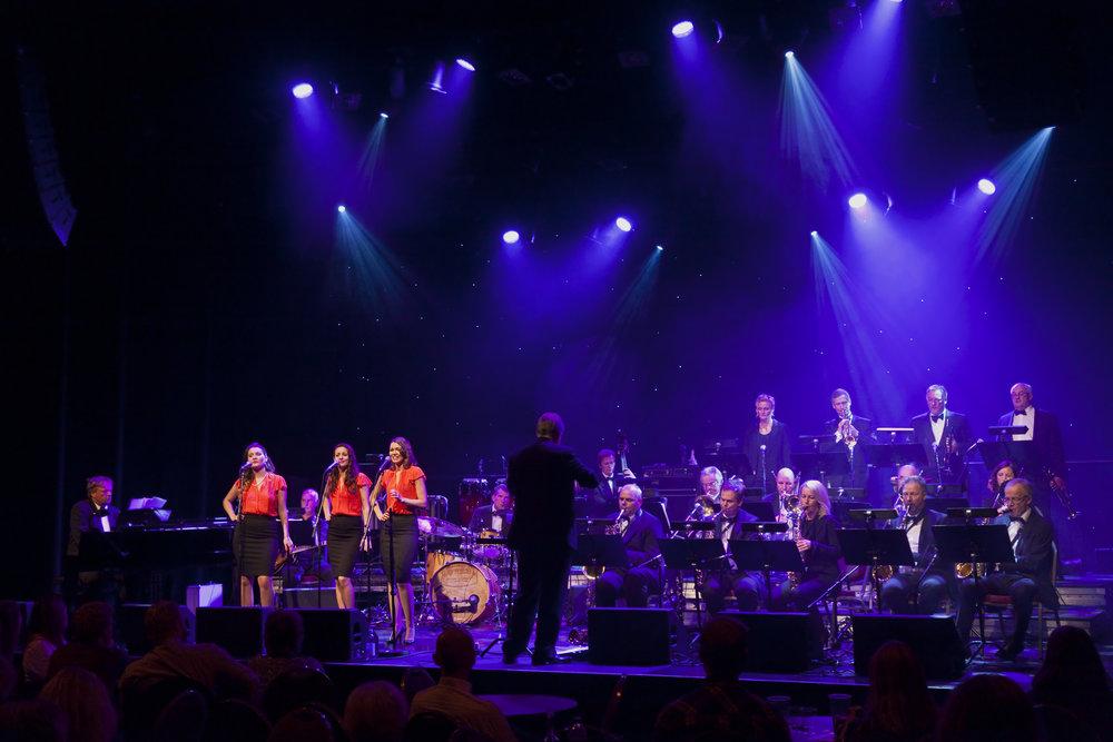 Follo Big Band på Romerike Storbandfestival 2015. Foto: Halvor Gudim