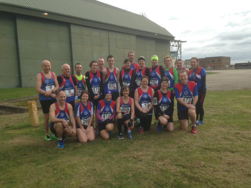 GYRR team at Coltishall 19-3-17