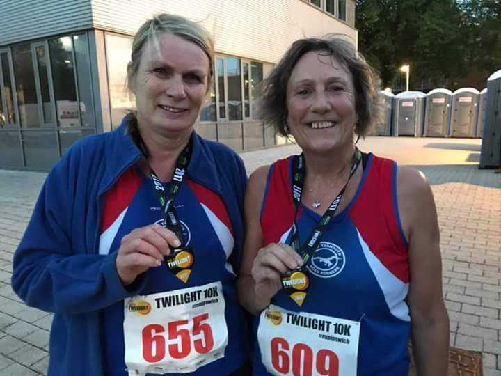Lorrain and Anna Twilight 10k 18-8-17 post race.jpg