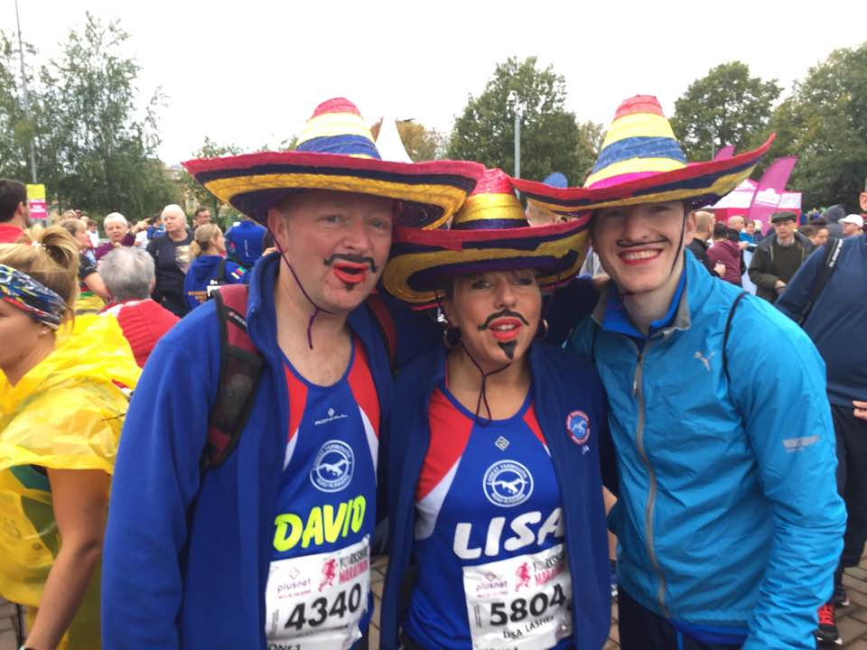 Get set go!!! The Three Amigos looking rather fine!