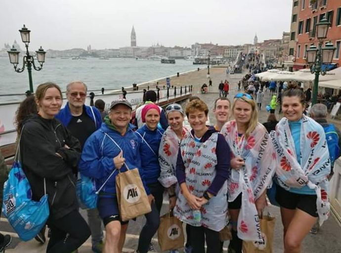 Venice 10k finishers.
