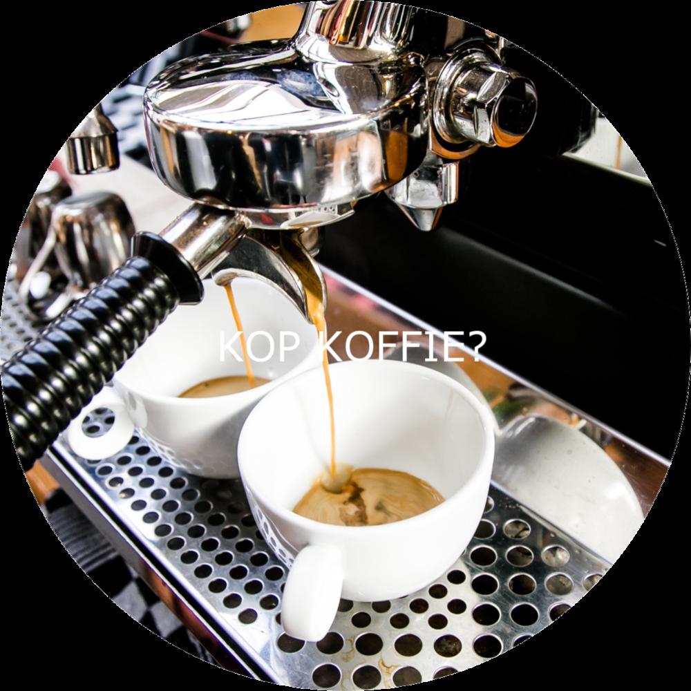 kop koffie?