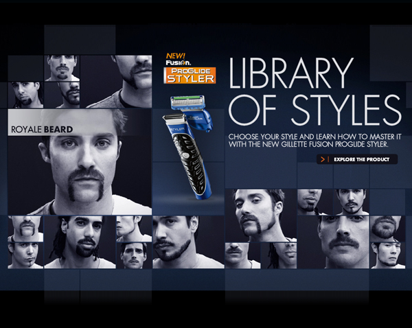 Copy of Copy of Library of Styles - Gillette