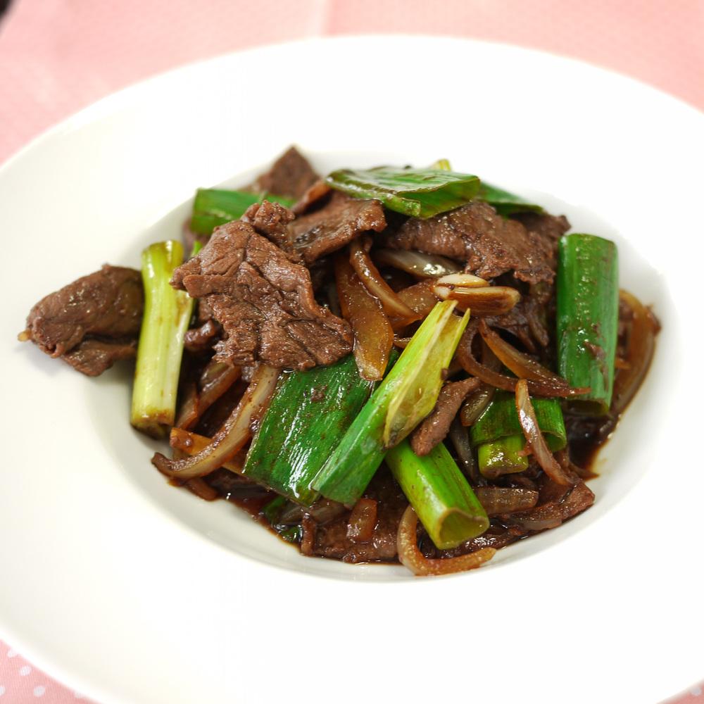 Mongolian Beef with Scallions