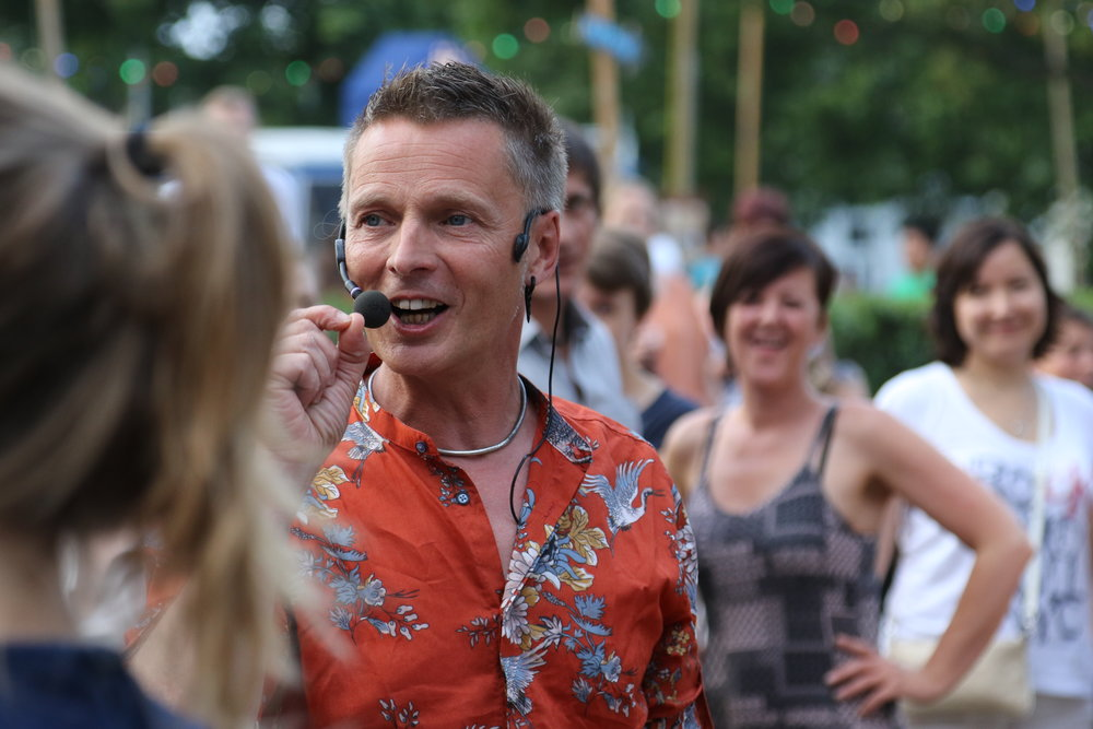 Wim Boussery - Dansen in het Park