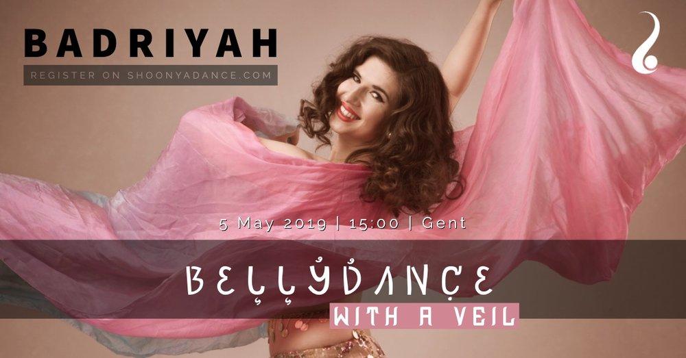 Bellydance with a veil | Workshop | Badriyah
