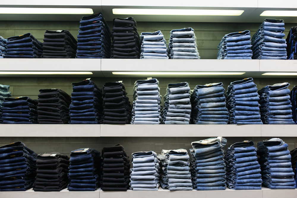 Smith & Archer Photography {The great wall of jeans}