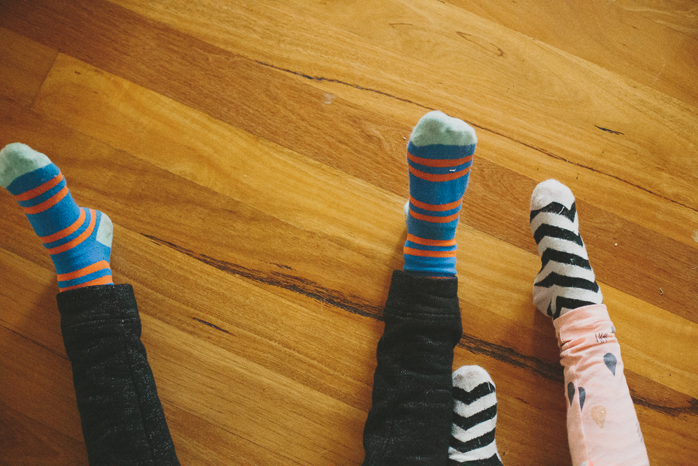 Smith & Archer Photography {The kids and their crazy socks}