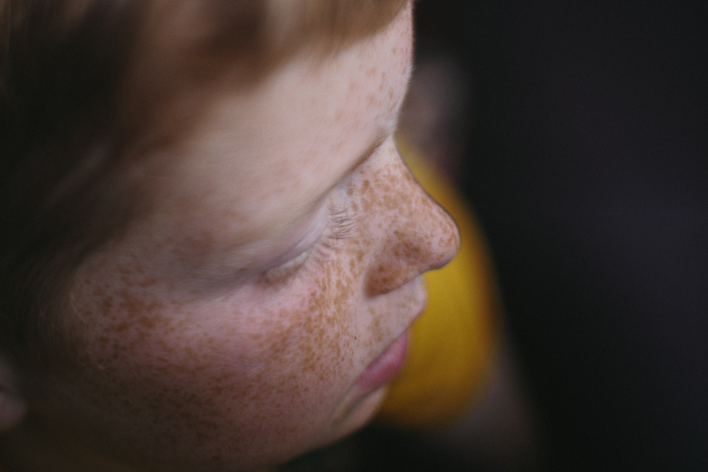 Smith & Archer Photography {Freelensed freckles}