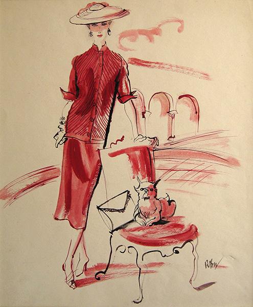 Rene-Bouet-Willaumez-Femme-en-Rouge'1.jpg