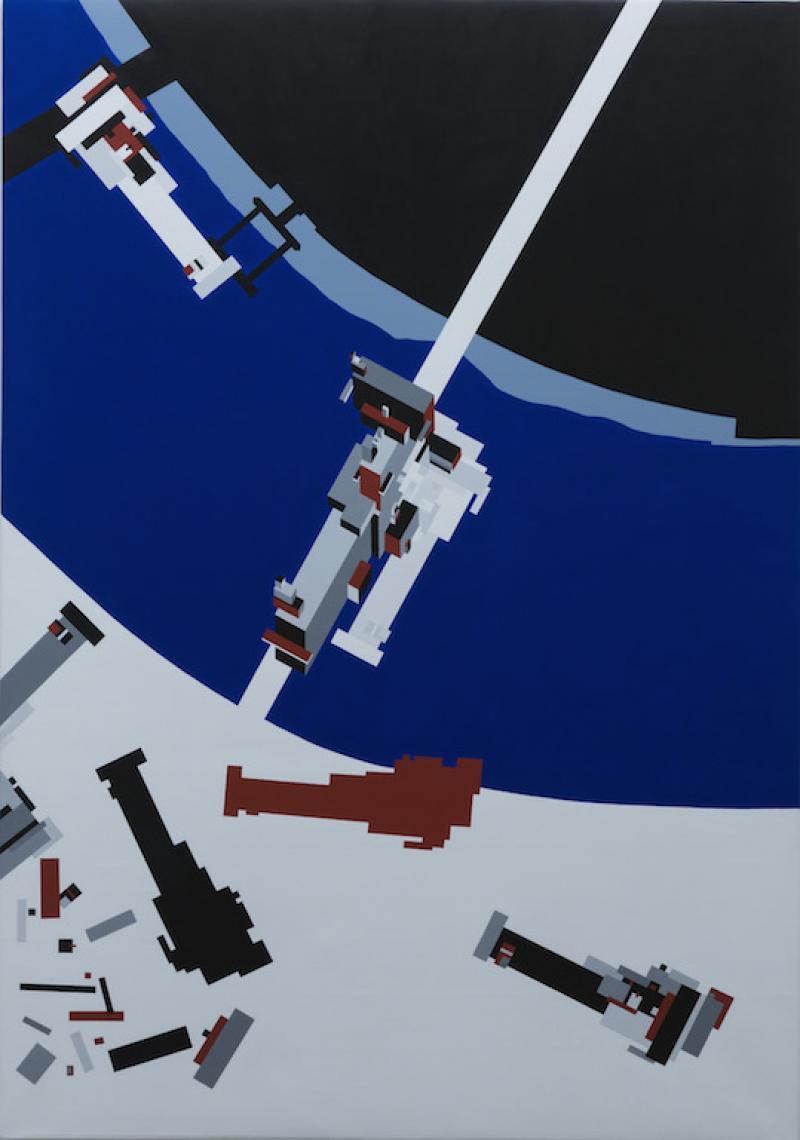 Malevichs Tektonik, 1977 by Zaha Hadid.JPG