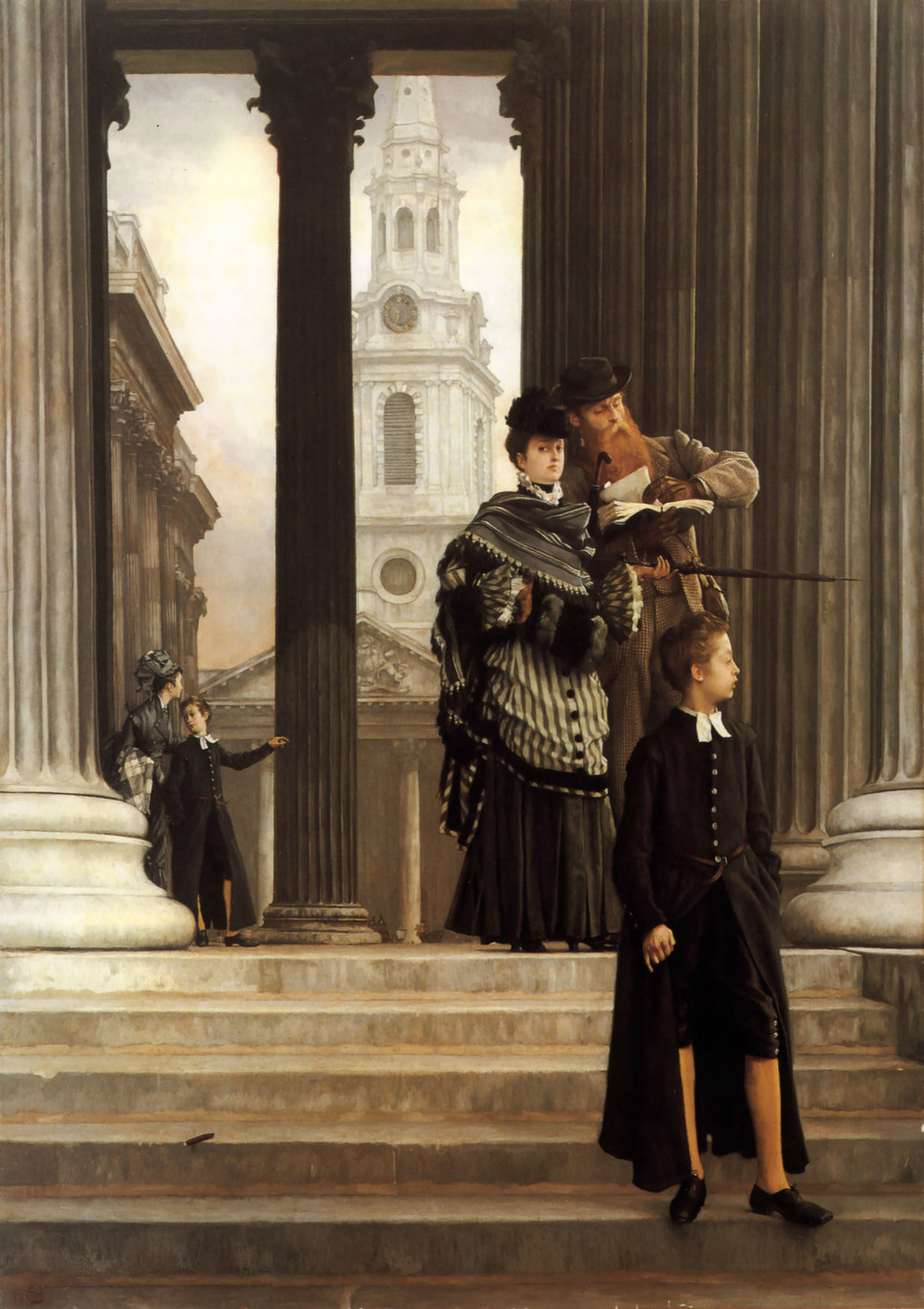 James Tissot, London Visitors - 1873