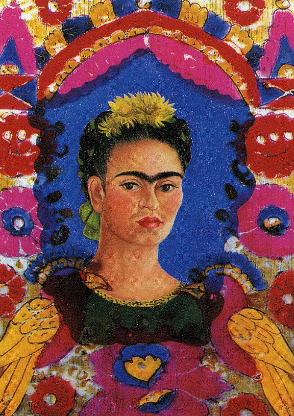 The Frame, 1938 - by Frida Kahlo