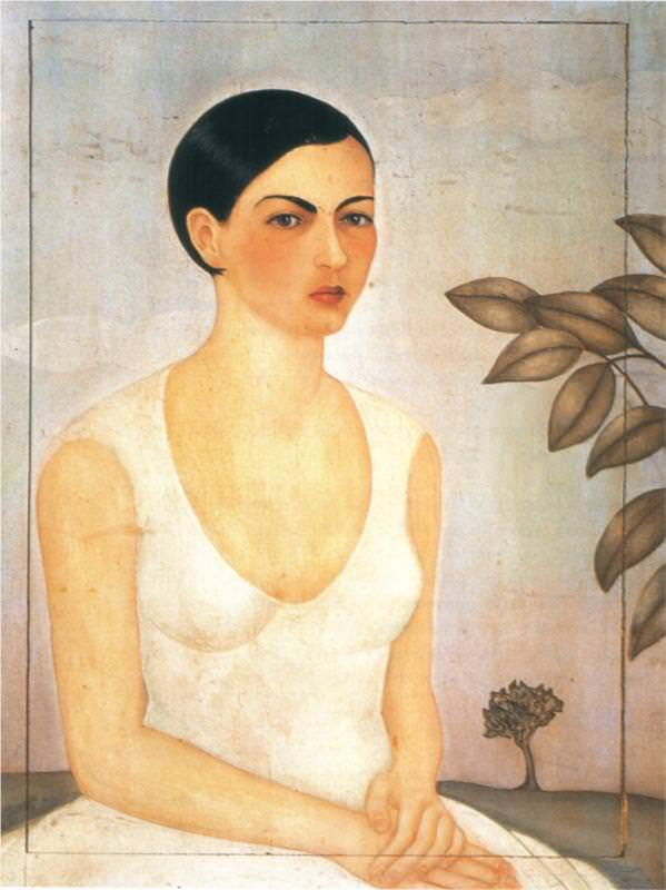 Portrait of Cristina, My Sister, 1828 - by Frida Kahlo