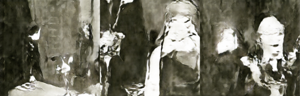 Fig 3: GAN generated stills from the film